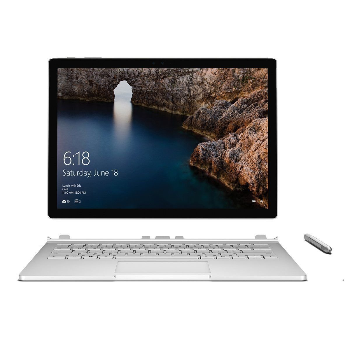 Microsoft Surface Book 13.5-Inch (128GB, 8GB RAM, Intel Core i5) (Certified Refurbished)