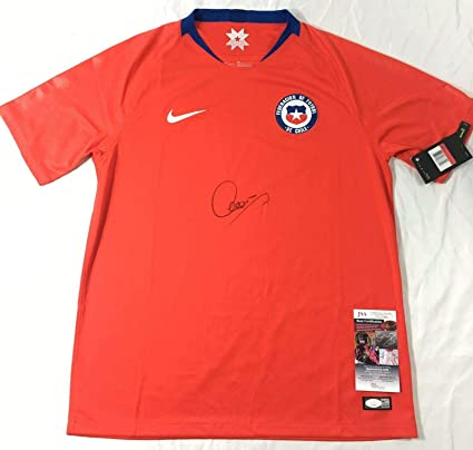 finest selection 5fec1 67ab3 Alexis Sanchez Signed Jersey - Chile National Coa Copa ...