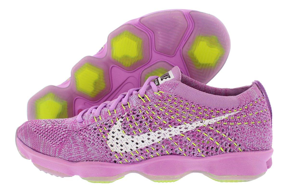 watch 088c8 d5c5c Galleon - NIKE Womens Flyknit Zoom Fit Agility Running Trainers 698616  Sneakers Shoes (UK 8 US 10.5 EU 42.5, Fuschia Glow White Fuschia Flash  White 500)