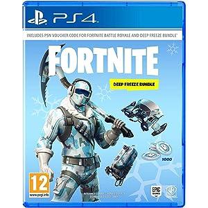 Fortnite PS4 1,500 V-Bucks, Royale Bomber&Frostbite Skins