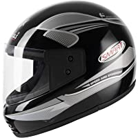 Aeroplus Smart (ISI) Full Face Helmet (580mm,M) (Silver)