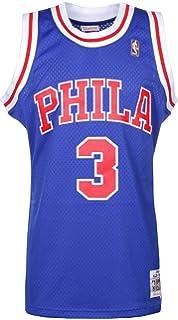 9293dcb9c Mitchell & Ness Allen Iverson #3 Philadelphia 76ers 1996-97 Swingman NBA  Jersey BLUE