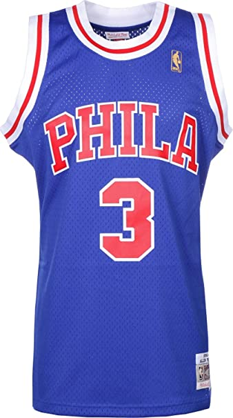 Mitchell & Ness Replica Swingman NBA Jersey HWC 3 Allen Iverson Philadelphia 76ers Basketball Trikot