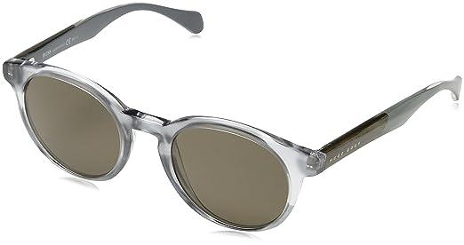 Hugo Boss Herren Sonnenbrille Boss 0912/S SP 1JX, Grau (Horn Crygrey/Bronze Pz), 50