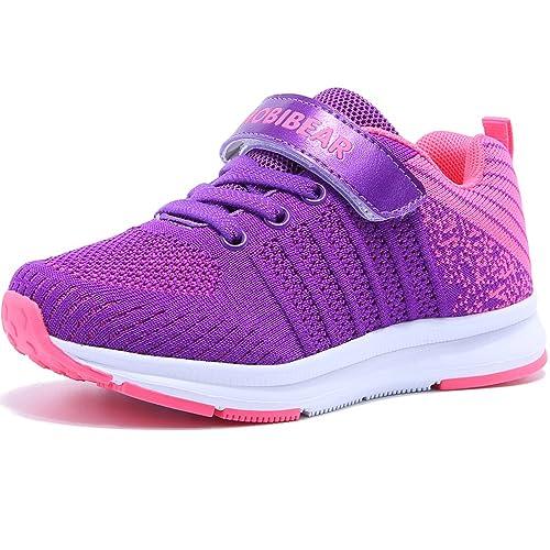 Unisex-niños Zapatillas de Zapatos para Correr Niños Niñas Zapatilla de Deporte de Moda Zapatos de Interior Running Shoes: Amazon.es: Zapatos y complementos