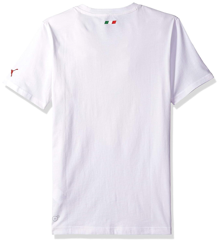 PUMA Mens Scuderia Ferrari Big Shield T-Shirt