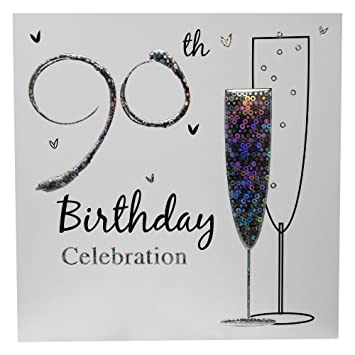 90th Birthday Party Invitations With Envelopes Pack Of 36
