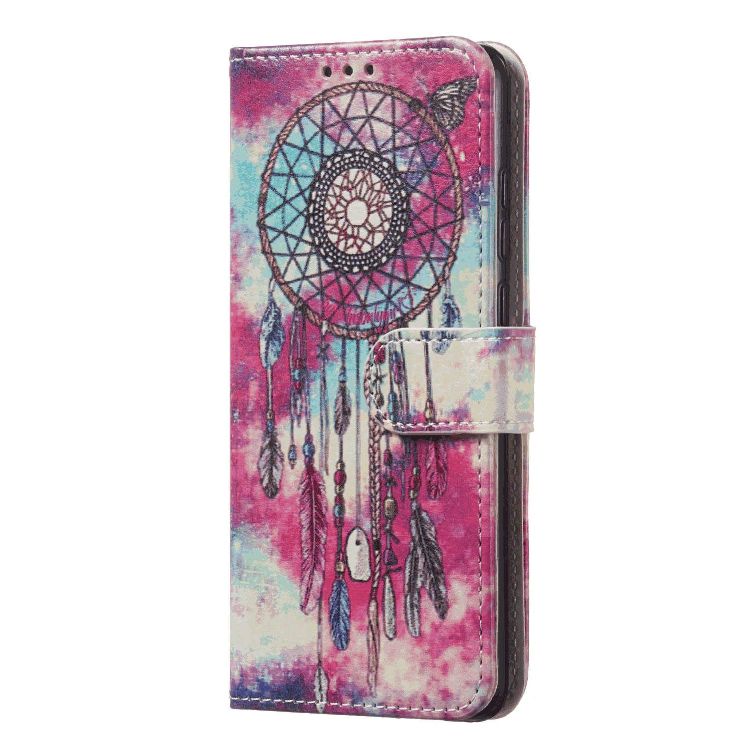 Elegant fashion5 Wallet Case for Samsung Galaxy S10e PU Leather Flip Cover Compatible with Samsung Galaxy S10e