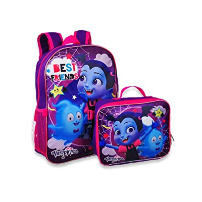 "Vampirina 16"" Backpack W/Detachable Lunch Box 