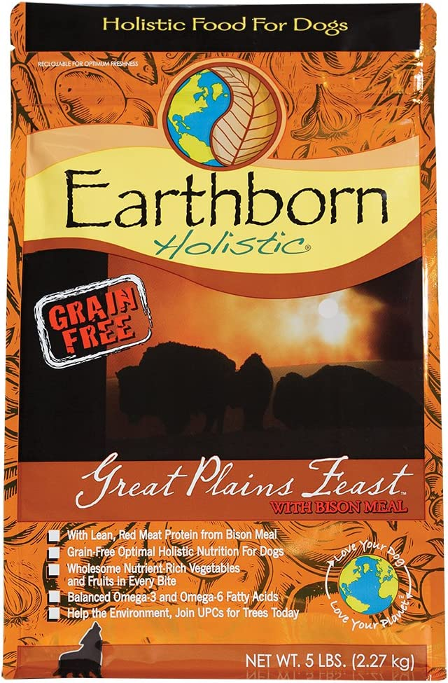 Earthborn Holistic Great Plains Feast Grain-Free Dry Dog Food