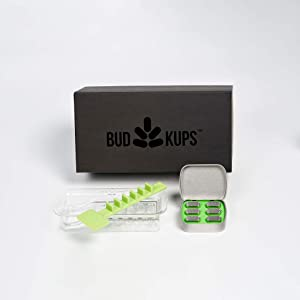 The BudKit, with BudKups Generation 3.0 Loading Capsules for PAX2 & PAX3. Includes 6 BudKups, Packing System, and Portable Case
