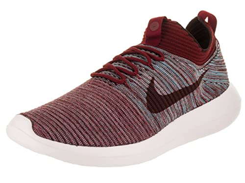finest selection 50629 5a177 Image Unavailable. Image not available for. Color  Nike Men s Roshe Two  Flyknit V2 Running Shoe 11 Red