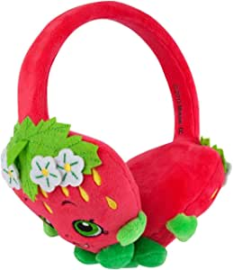 Shopkins Plush Kids Headphones/Headband for Audio/DVD/MP3/iPad Strawberry Kiss