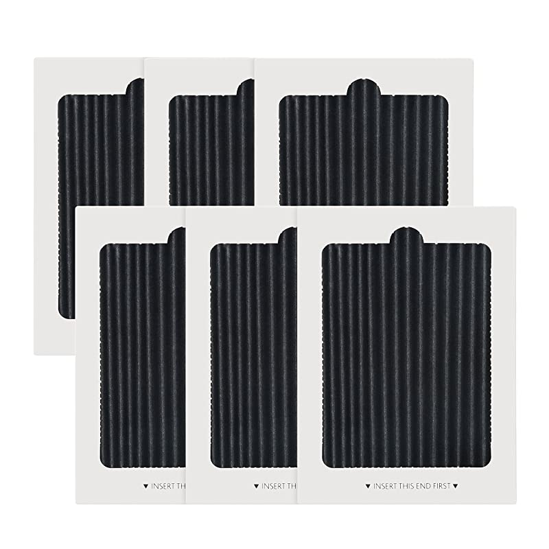 PS1993820 Carbon Activated Air Filter Electrolux Frigidaire Pure Air Ultra Refrigerator Air Filters Replacement replaces SCPUREAIR2PK,EAFCBF PAULTRA PureAir Ultra 242061001,242047801 242047804