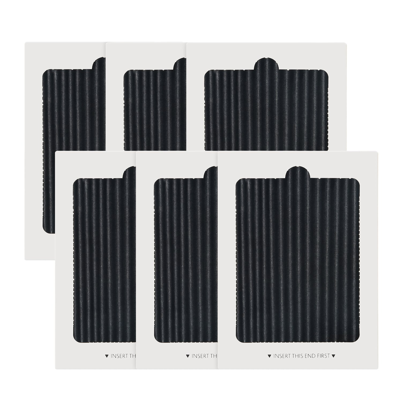 Frienda Refrigerator Air Filter Replacement Pleated for PAULTRA, EAFCBF Fridge Air Filter (6)