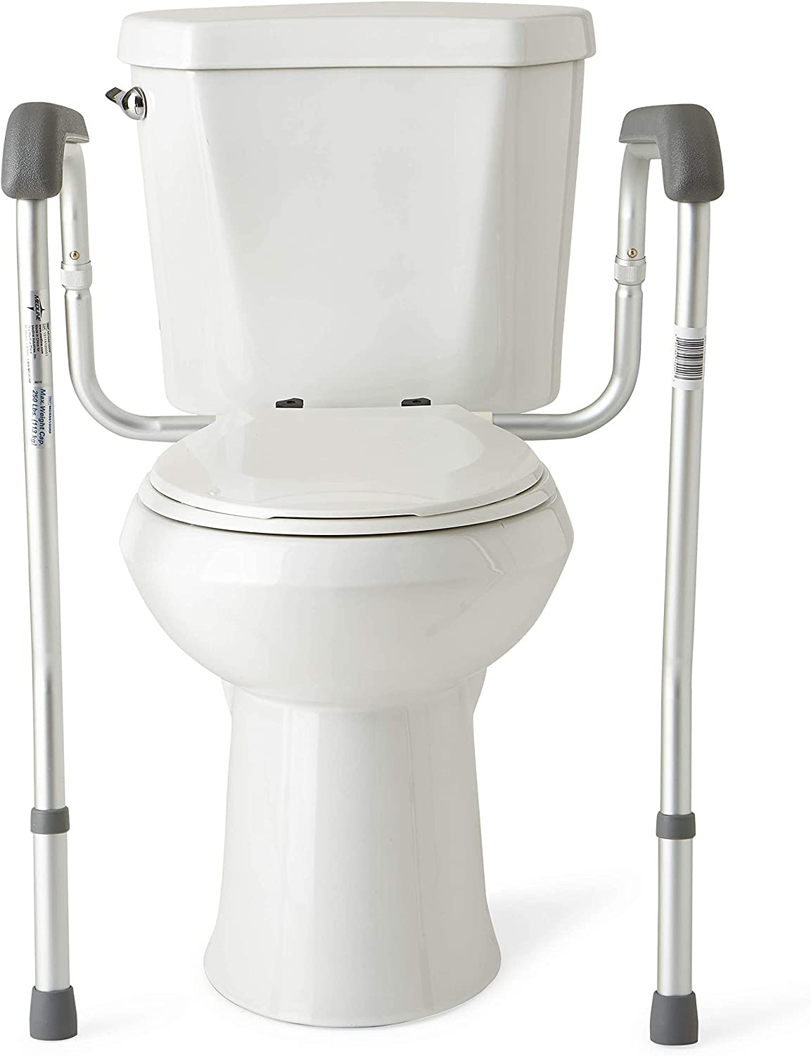 best toilet safety rails: Medline Toilet Safety Rails