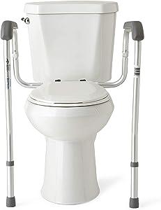 Medline Toilet Safety Rails, Safety Frame
