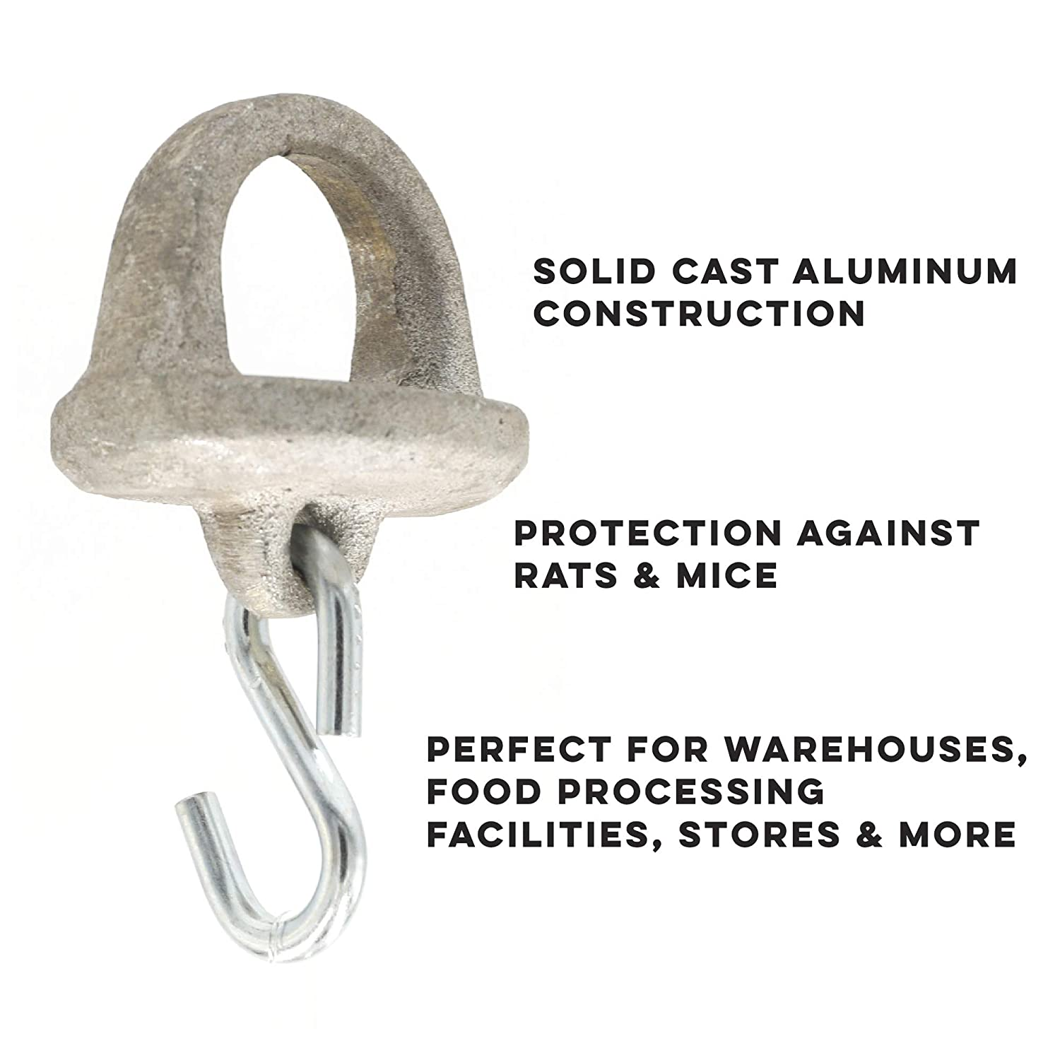 Xcluder Pull Chain Seal for Dock Levelers; 1.75in Seal Stops Rodents