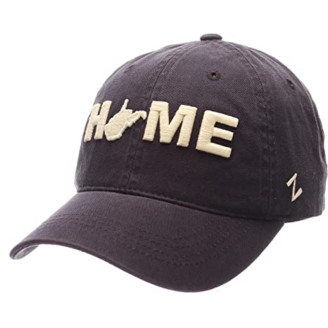 the latest 813dc 4c0bd Image Unavailable. Image not available for. Color  Zephyr Men s WEST  Virginia Home Scholarship Washed Adjustable HAT Navy