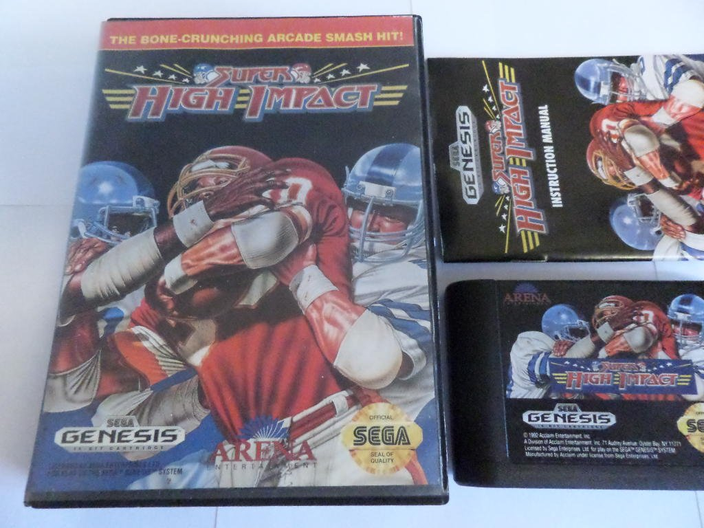 Super High Impact Football - Sega Genesis