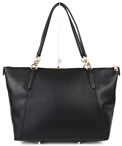 amazon com ava tote in crossgrain leather in black 350 00 shoes rh amazon com