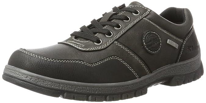Supremo Mens 3710801 Derbys Grau (Coal) 8 UK