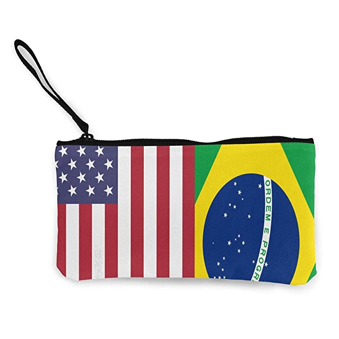 Amazon.com: Cartera de la bandera de Brasil de Estados ...