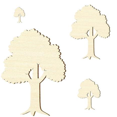 Laubbaum Pappel 3mm Baum Größenauswahl Sperrholz Zuschnitte