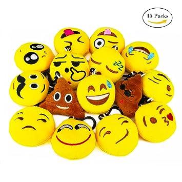 iNeith Emoji llavero Emoticonos llavero Emoción para Niños ...