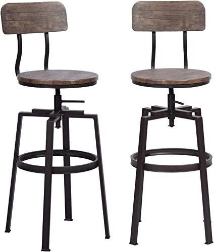 HouseInBox Industrial Bar Stool