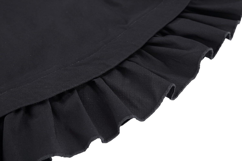 eb548cbd Yafex Mujeres Faldas Elegantes Maxi Gótica Plisada Nudos Cruz Con ...