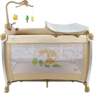 Children bed to sleep and play by almulla, Beige, M-PL102C