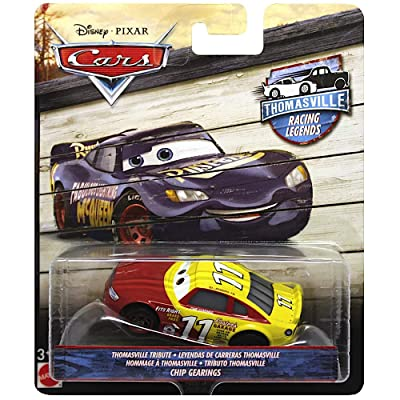 Cars Diecast Chip Gearings Thomasville Racing Legends Disney 1:55 Scale: Toys & Games