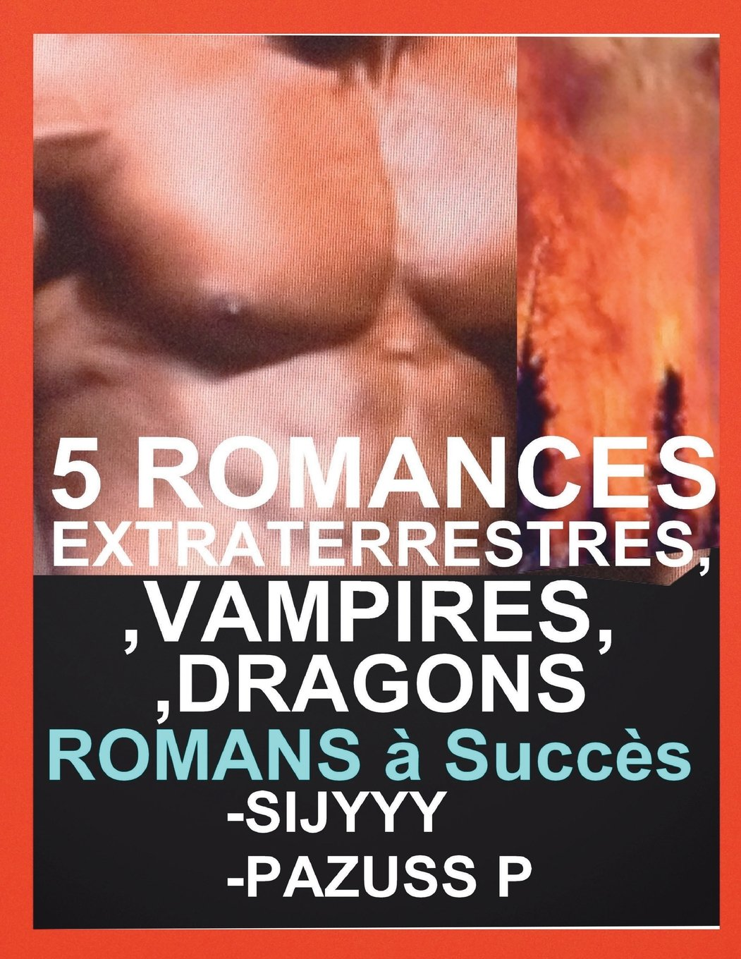 Amazon Com 5 Romances Extraterrestres Vampires Dragons