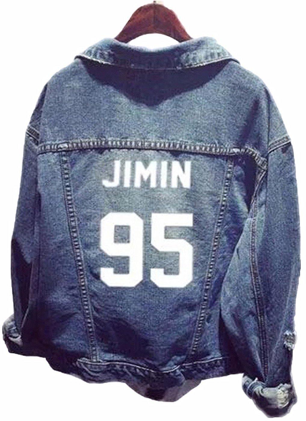 SERAPHY Unisex Bangtan Boys BTS Jacket Chaqueta Jeans Coat for ARMY SSRF-MH-NiuZai-W1-92