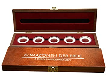 Mcsammler Holz Münzenkassette Münzkassette Für 35 Stk 10 Euro