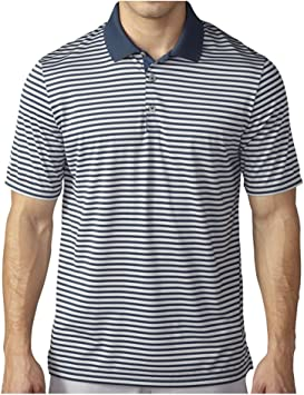 adidas Golf Playera Polo a Rayas de 3 Colores para Hombre: Amazon ...