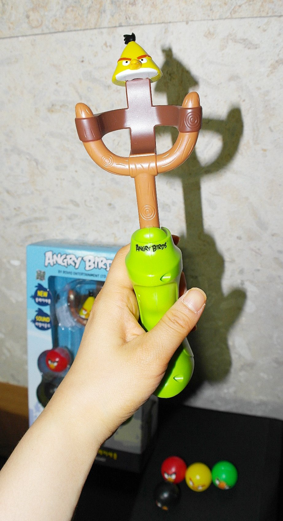 Angry Birds Play Slingshot Various Effect Funny Sounds Boy Girl Kid Play Gift by omtoy (Image #6)