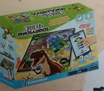 Science4you - Carrera de Dinosaurios para 2-6 Jugadores (275 ...