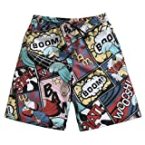 Mens Ultra Quick Dry Surfing Heroes Fashion Board