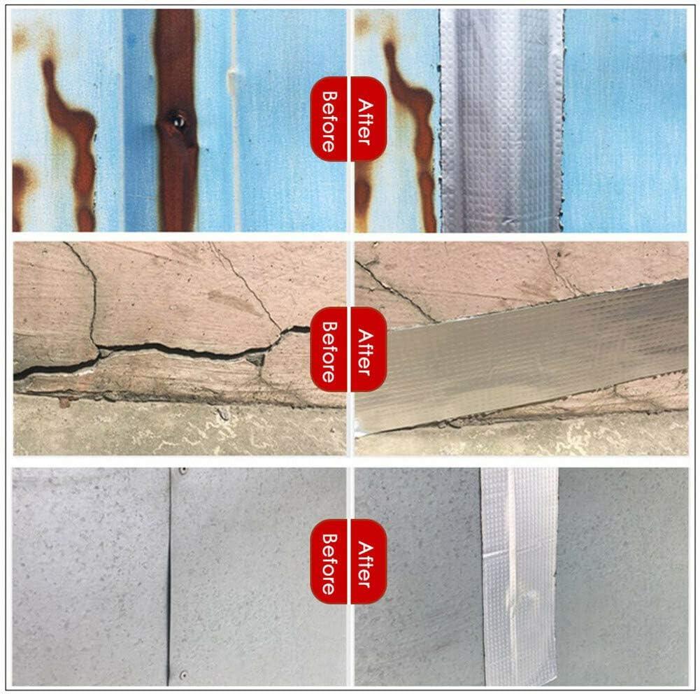 Resistente al Agua, Goma de butilo, Aluminio Lfhing 2XL Cinta de reparaci/ón