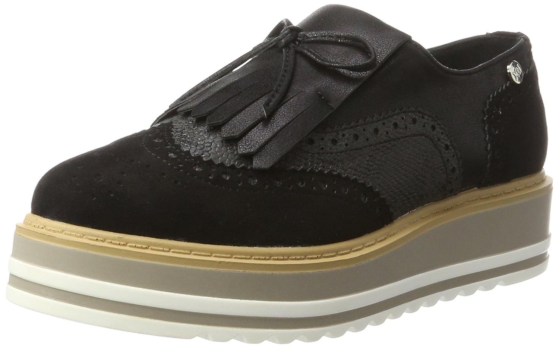 XTI 046708, Mocasines con Plataforma Mujer, Negro (Black), 38 EU: Amazon.es: Zapatos y complementos