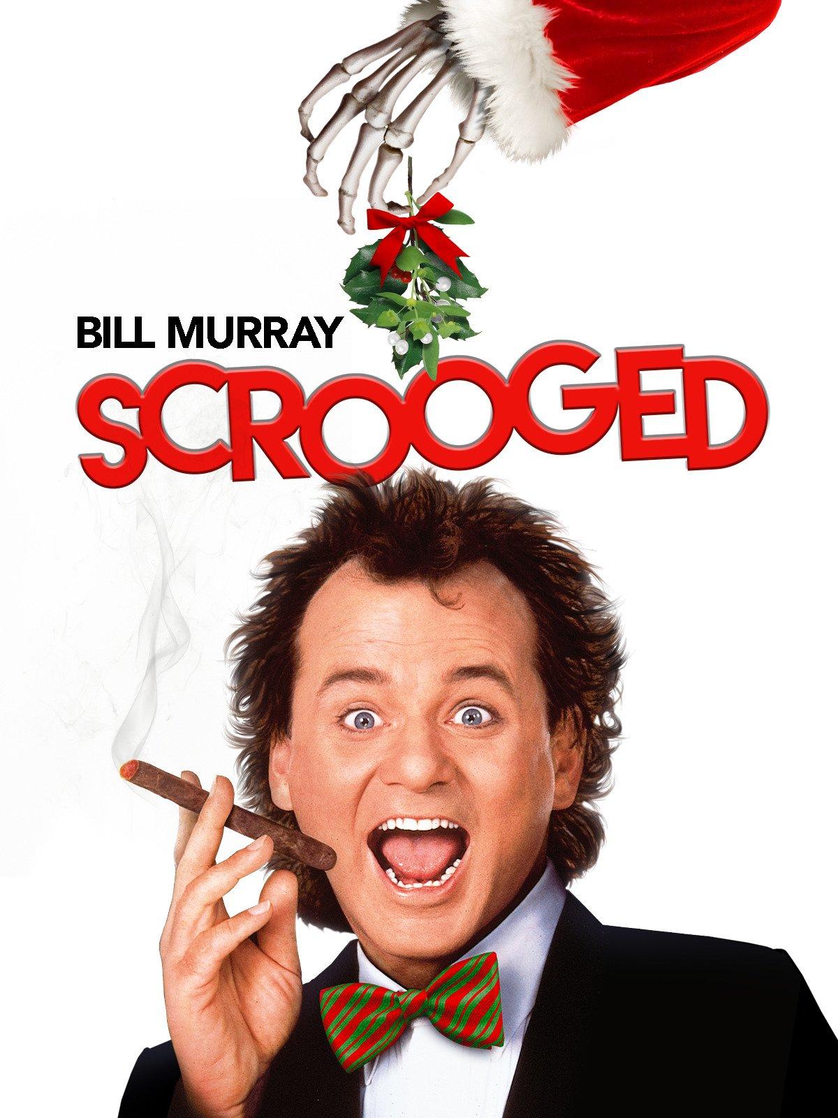 Amazon.com: Scrooged: Bill Murray, Karen Allen, John Forsythe, John ...