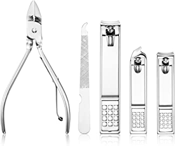 Cater Manicure, Pedicure Kit, Nail Clippers Set Grooming Kit