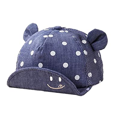 TENDYCOCO Gorra de béisbol para bebés Sombrero de ala Ajustable ...