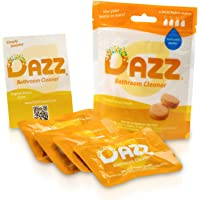 Dazz Bathroom Cleaner Tablets Refill Pack| Pet, Child, Budget and Eco Friendly| Plant Based Natural| 4x1L (4x32oz)| Use…