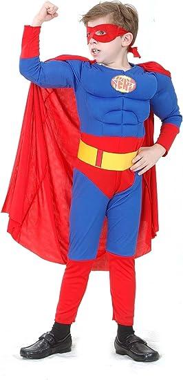 Disfraz de superhéroe para niño: Amazon.es: Juguetes y juegos