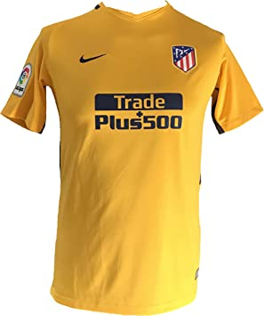 Nike 2017-2018 Atletico Madrid Away Football Soccer T-Shirt Camiseta (Kids): Amazon.es: Deportes y aire libre
