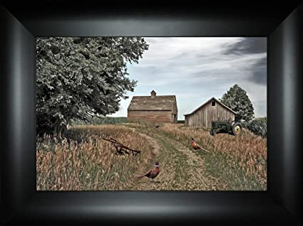 Amazon com: Back Forty Back Road By Todd Thunstedt 18x24