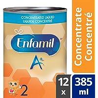 Enfamil A+ 2 Infant Formula, Concentrated Liquid, 385mL, 12 cans